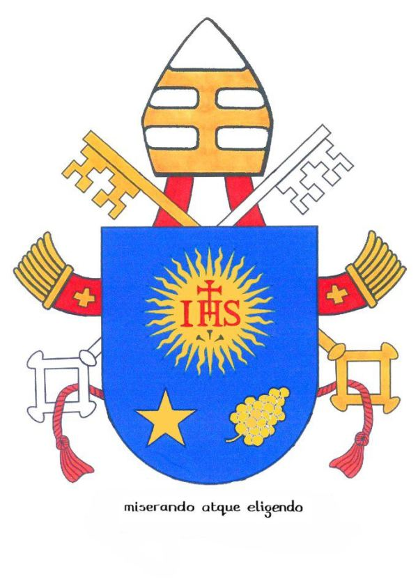 Pope Francis I's Coat of arms.
