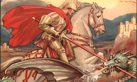 St. George- Patron Saint of England.