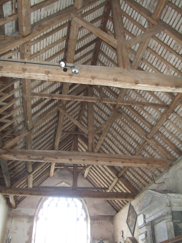 The  barn roofed Lady Chapel.