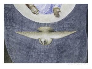 Dove, Jesus's Baptism Detail  By: Giusto De' Menabuoi