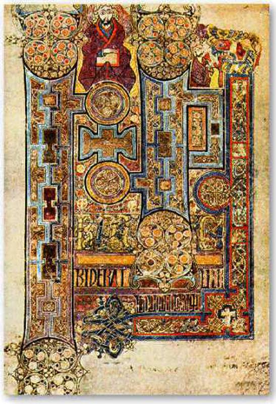 Image @ http://celticmythpodshow.com/blog/the-four-gospels-of-st-briget-kildare/