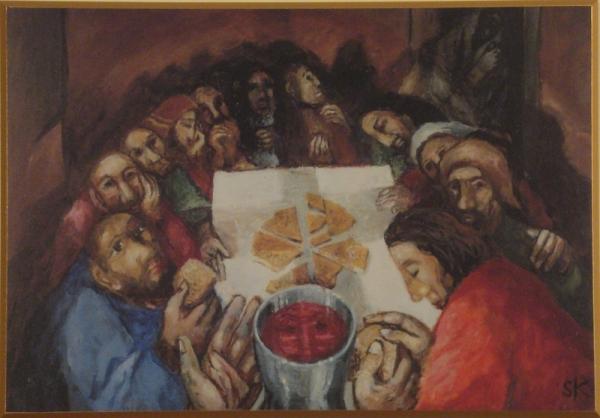'The Last Supper' by Fr. Seiger Koder.