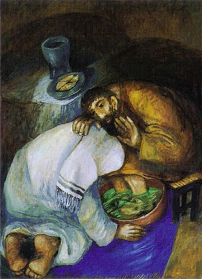 """The Washing Of The Feet"" by Fr. Seiger Koder."