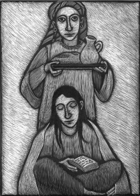 Mary and Martha Read the Gospel story at  http://biblia.com/books/esv/Lk10.38-42