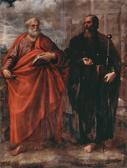 mage: Juan Fernandez de Navarrete - St. Peter and St. Paul