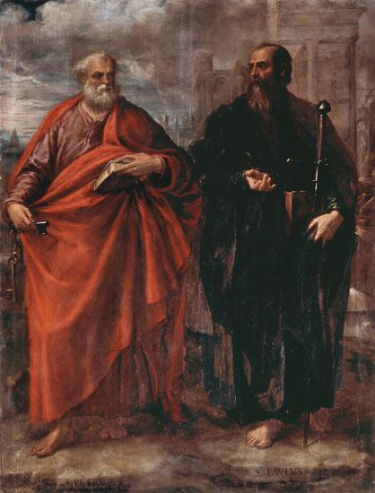 mage: Juan Fernandez de Navarrete - St. Peter and St. Paul