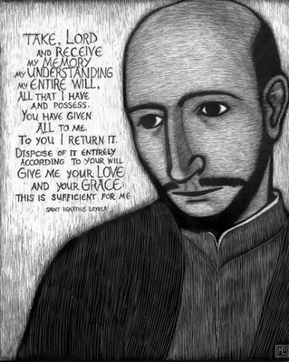 St Ignatius prayer.