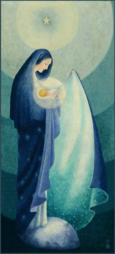Painted by Sr. Marie Pierre Semler
