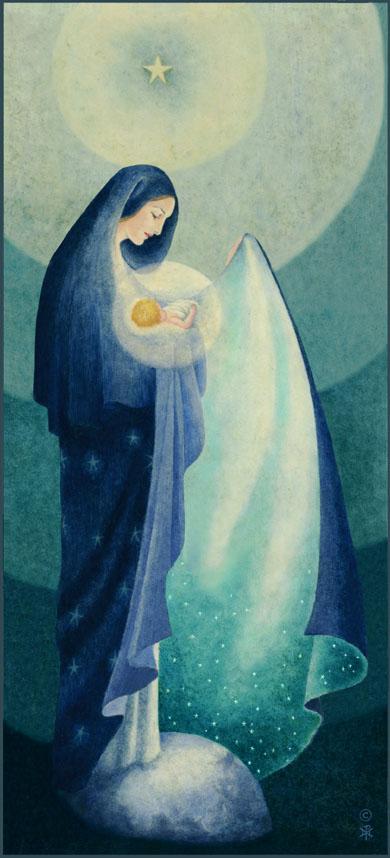 Painted by Sr. Marie Pierre Semler